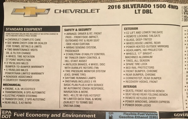 2016 Chevrolet Silverado 1500 - photo 3