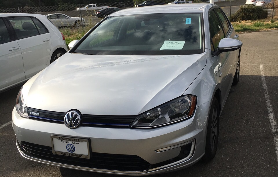 2016 Volkswagen e-Golf - photo 0