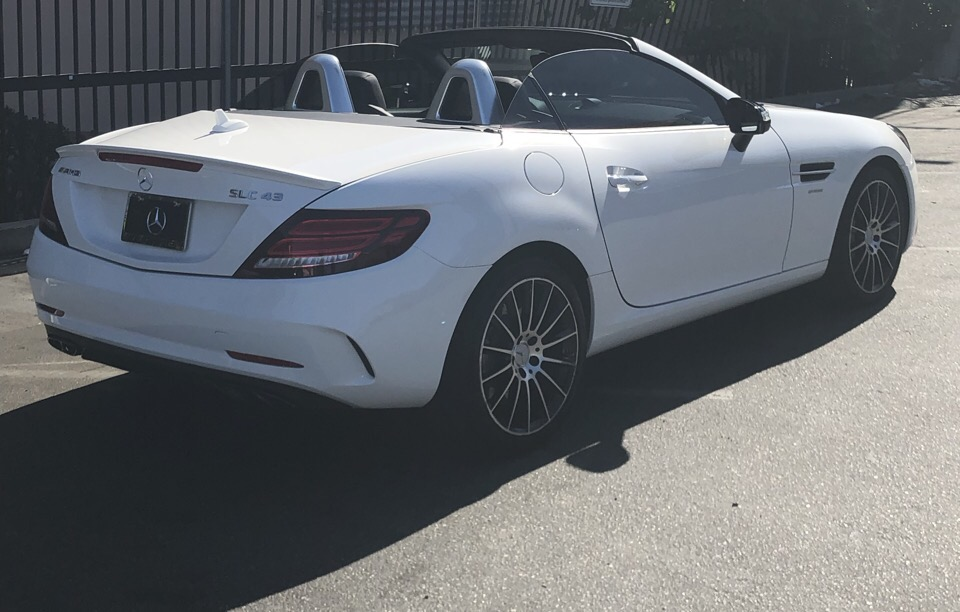2018 Mercedes-Benz SLC - photo 2