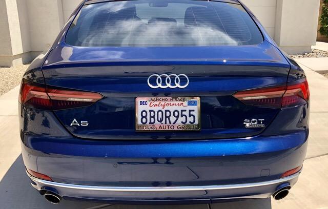 2018 Audi A5 Sportback - photo 3