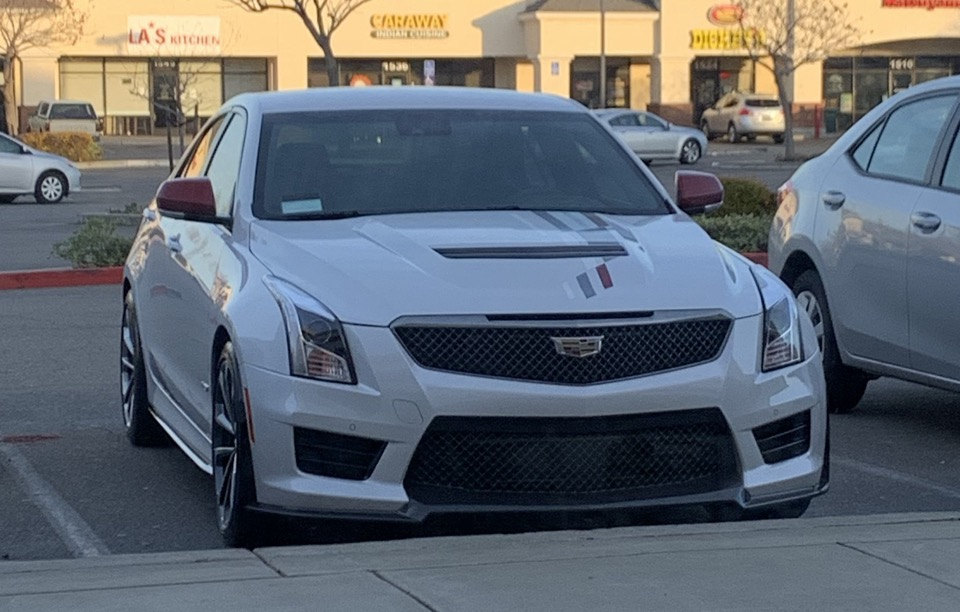 2018 Cadillac ATS-V - photo 3